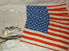 SET OF 4 CLOTH TABLE LINENS PLACEMATS US USA U.S.A. AMERCIAN FLAG 4TH OF JULY