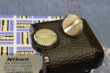 NEW OEM Nikon RETAINING SCREW f/MD11/MD12 Motor-Drive Battery Lid/Holder FM2 FM3