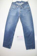 Levis Lot 902 (Cod. D1579) Tg44 W30 L34 jeans usato Vita Bassa Donna Retrò