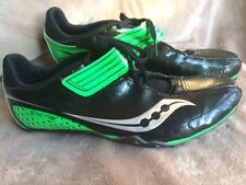 New(Others) Saucony Men Spitfire 4 Track and Field Shoe Spikes Silver Size 11 US