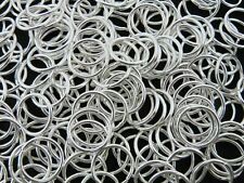 50 Pcs 16mm Large Silver Plated Open Jump ring Connector Heavy Duty Strong E168