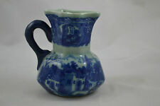 Victoria Flow Blue Ironstone Reproduction Creamer Flute top
