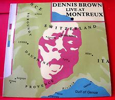 Dennis Brown Live At Montreux German LP Roots/Lovers Money In My Pocket+ VINYL