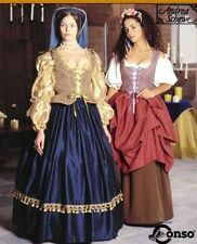 SIMPLICITY SEWING PATTERN 8715 OOP MISSES RENAISSANCE COSTUMES SIZES 10-14