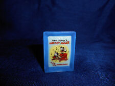 MICKEY MOUSE WHOOPEE PARTY POSTER Miniature PLAQUE French Porcelain Feves DISNEY