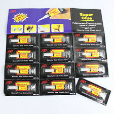 Mini 3 X 502 Cyanoacrylate Adhesive Super Glue Strong Adhesion Within Seconds TO