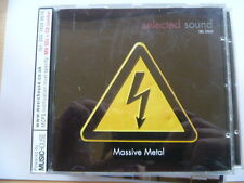 MASSIVE METAL RARE LIBRARY MUSIC QUALITY CHECKED CD