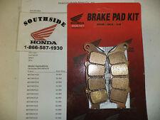 GENUINE HONDA BRAKE PAD SET REAR GOLDWING GL1800
