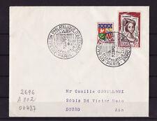 ec61/ Enveloppe   salon philatélique d'automne  art moderne   Paris    1961