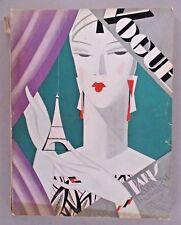 Vogue Magazine - October 15, 1926 ~~ Benito art deco cover