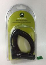 NEW GENUINE MOTOROLA V3 CAR POWER ADAPTER MICRO USB LIGHTER, PHONE CHARGER  A120