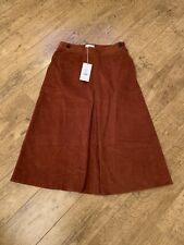TOAST GINGER CORDUROY SKIRT SIZE 16 NEW WITH TAGS