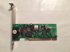 Modem Analog Q-Tech 561MI 56K Modem PCI - Chip Intel