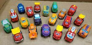 Tonka CHUCK AND FRIENDS Playskool Hasbro Wheel Pals Lot 20 Soft Plastic