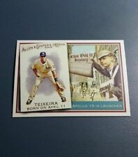 MARK TEIXEIRA 2010 TOPPS ALLEN & GINTER THIS DAY IN HISTORY CARD # TDH31 A9978