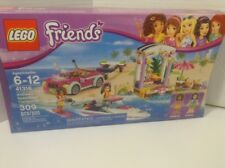 "Lego Friends 41316 ""Andrea's Speedboat Transporter"" Ages 6-12"