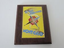 2000 Monte Carlo 111 Rallye Automobile Historique Participant Badge Plaque