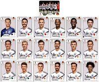 Panini WM 2018 Russia Sticker - Mannschaftspaket Deutschland (Sticker 433-451)
