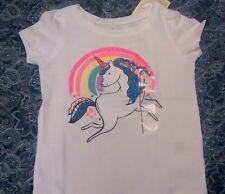 Circo Unicorn T-shirt 2T girls cotton blend short sleeve summer spring