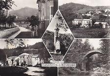 967) SALUTI DA CASANOVA DI ROVEGNO. 5 VEDUTE.