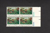 SCOTT # 1563 Lexington-Concord Issue United States Stamps - Plate Block of 4