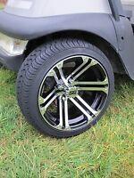 Golf Cart Wheel and DOT tire Combo  14'' wheel Club Car, EZ-GO & Yamaha