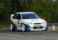 """Escort RS Cosworth Rally Car Printed Canvas wall art 22"""" X 16"""" solid frame"""