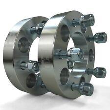 "Set of 2 Wheel Spacer Billet Aluminum 5x4.75mm 12x1.50mm 1.25"" Thick"
