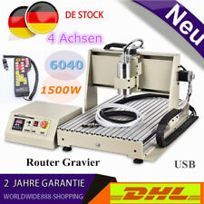 USB CNC 6040 Engraver Wood Router 4 Axis Engraving Machine 1.5KW VFD+Controller