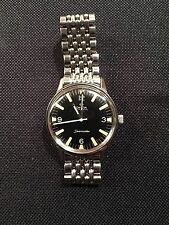 VINTAGE OMEGA SEAMASTER AUTOMATIC MILITARY DIAL 165.002 BEADS OF RICE BRACELET