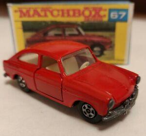 Matchbox superfast 67 Volkswagen 1600TL 1970 Custom/Crafted box