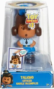 NEW OFFICIAL DISNEY TOY STORY 4 TALKING OFFICER GIGGLE MCDIMPLES FIGURE