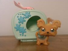 Littlest Pet Shop LPS #6 Shi Tzu Dog with Carry Case