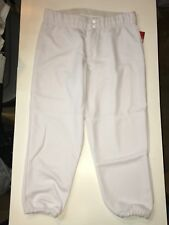 Intensity N5300 White Low Rise Womens Large Softball Pant NWT