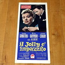 IL JOLLY E' IMPAZZITO locandina poster The Joker is Wild Frank Sinatra Lewis B22