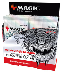 NEW MTG Adventures in the Forgotten Realms Collector Box sealed