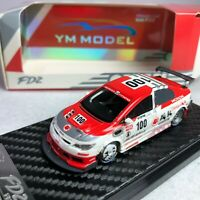 1/64 YM Model Honda Civic Type-R FD2 IDEMITSU MOTION 出光Version #100 Ltd 999 pcs