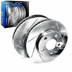 For 2018-2021 Honda Odyssey R1 Concepts Rear Slotted Brake Rotors