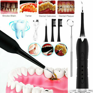 Ultraschall Zahnsteinentferner Set Elektrisch Entferner Whitening Zahnreiniger