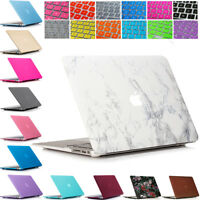 """Plastic Hard Case Shell  + Keyboard Cover for Macbook Air 11"""" Inch A1465 A1370"""