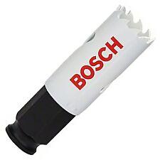 """Bosch 22 mm 7/8"""" cambio de alimentación de liberación rápida Holesaw Cortador del agujero Sierra Broca"""