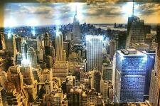 LED Bilder LED Bild Wandbild 65 cm x 45 cm Leuchtbild NEW YORK CITY