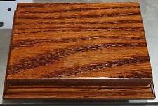Wooden display plinth base