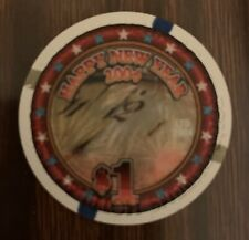 New listing Las Vegas Four Queens Casino $1 Chip — Uncirculated Combining Ship 50% Off