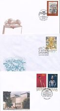 Lithuania 1999 - 3 FDC covers - Museum - Christmas - Bear - Horse