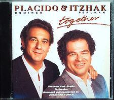 Placido DOMINGO & Itzhak PERLMAN: TOGETHER Toselli Ponce Tosti EMI CD