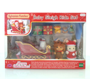 Sylvanian Families BABY SLEIGH RIDE SET 5269 Christmas Santa Calico Critters