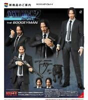 "Mafex No.070 John Wick Figure Action Keanu Reeves In Box Toy Chapter 6"" Arrival"