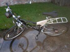 "Mercedes Benz Tactical Police Bicycle Frame Med. 26"" Wheels Bike Rack (Read) #8"