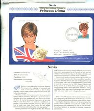 PRINCESS DIANA  1997 1998 TRIBUTE STAMP COVER 106 FOREIGN COVER SET W/ BINDER